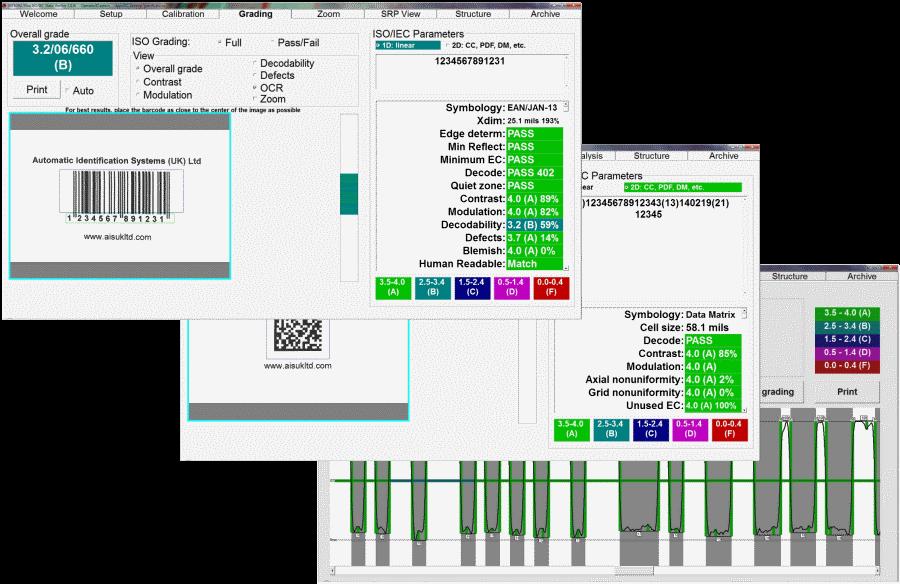 Barcode Verifier - LVS Barcode Verifier Software