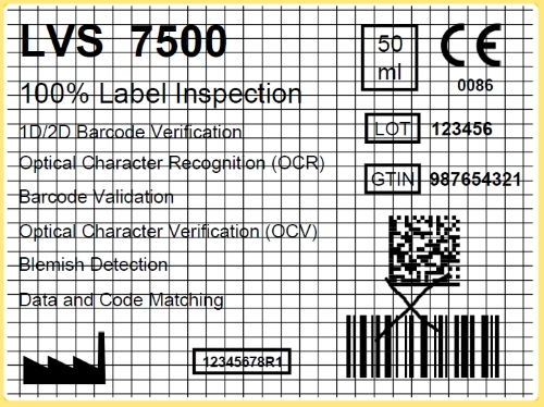 LVS 7500 Faulty Label